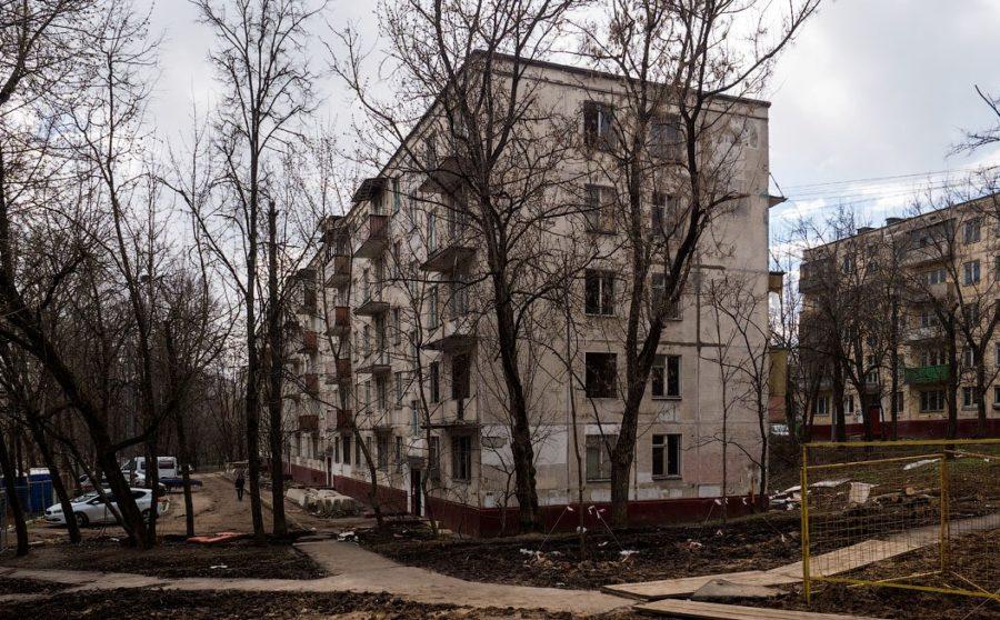 Дом вошедший в программу реновации