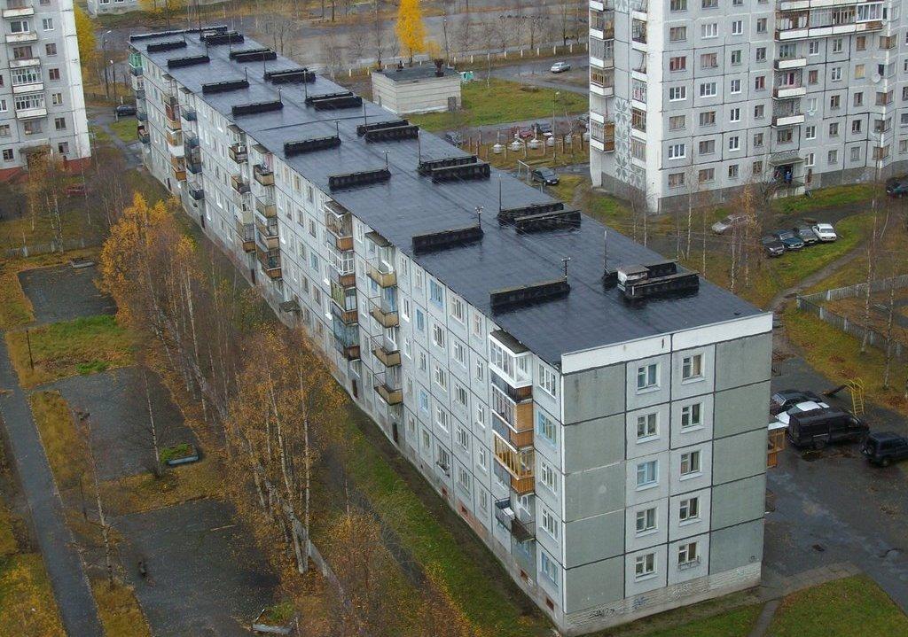 Пятиэтажные жилые здания