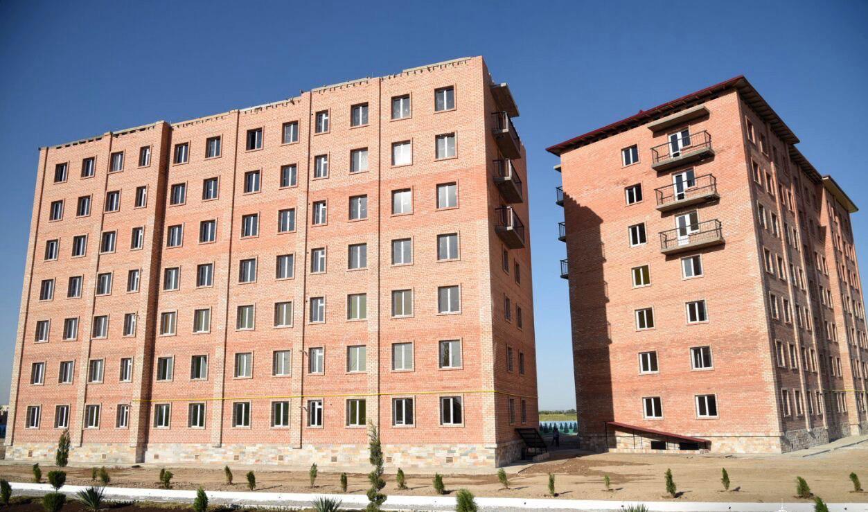 Построенные дома многоэтажки